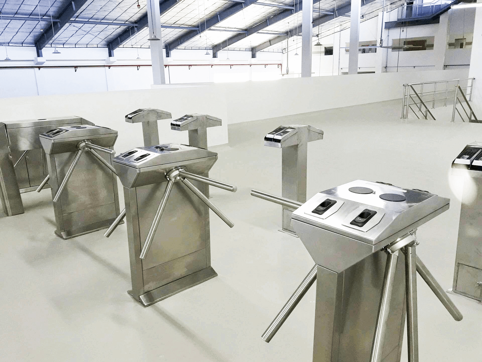 Quaensa Foods Corporation Turnstiles System