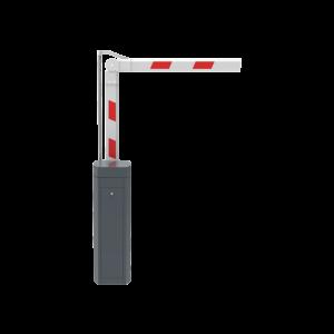 parking barrier folding arm