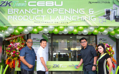 ZKTeco Officially Sets Foot In Cebu