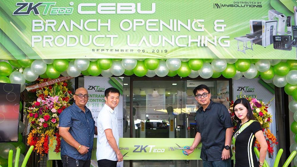 ZKTeco Officially Sets Foot In Cebu
