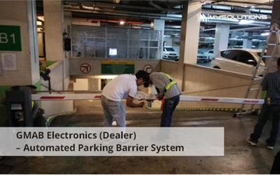 Forbeswood Heights Automated Parking Barrier System
