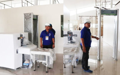 New Ormoc Airport Security Inspection System